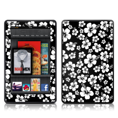 Kindle Fire Skin - Aloha Black