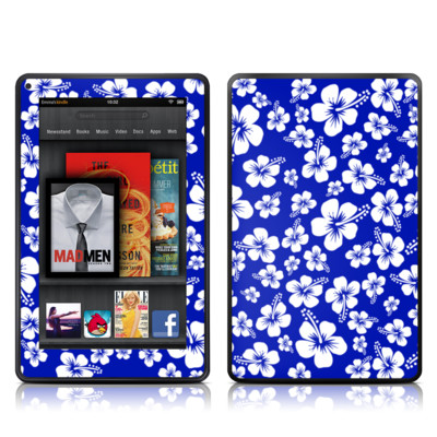 Kindle Fire Skin - Aloha Blue