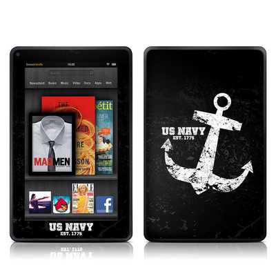 Kindle Fire Skin - Anchor