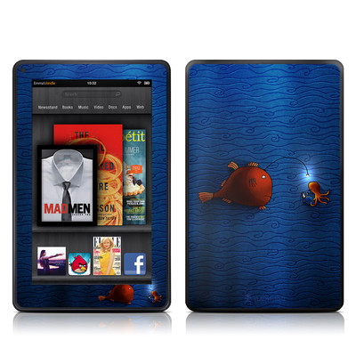 Kindle Fire Skin - Angler Fish