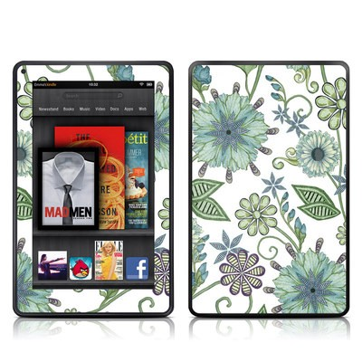 Kindle Fire Skin - Antique Nouveau