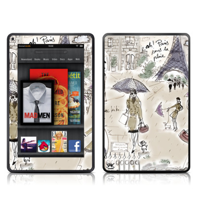 Kindle Fire Skin - Ah Paris