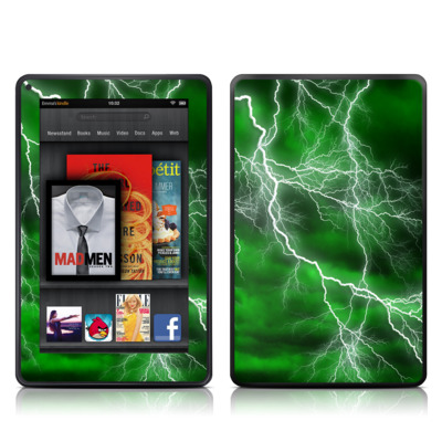 Kindle Fire Skin - Apocalypse Green