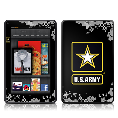 Kindle Fire Skin - Army Pride