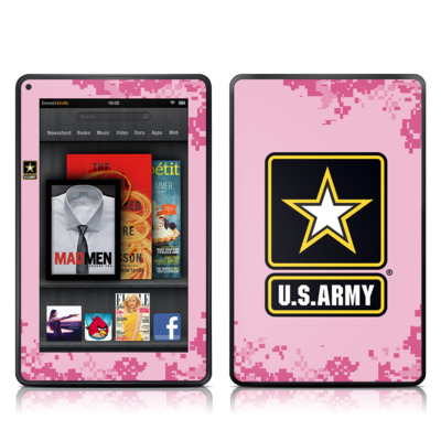 Kindle Fire Skin - Army Pink