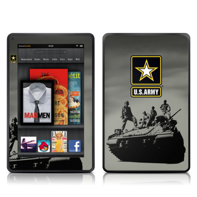 Kindle Fire Skin - Army Troop