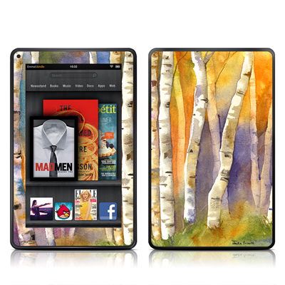 Kindle Fire Skin - Aspens