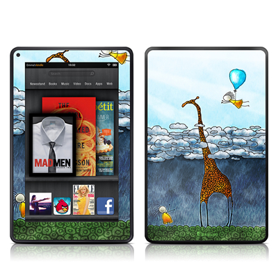Kindle Fire Skin - Above The Clouds