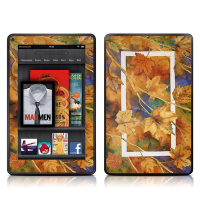 Kindle Fire Skin - Autumn Days