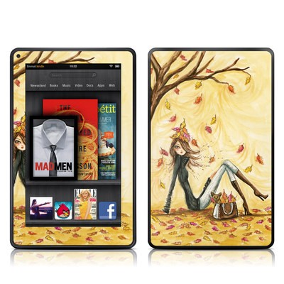 Kindle Fire Skin - Autumn Leaves