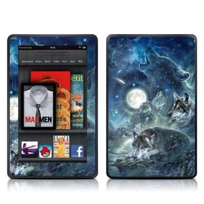 Kindle Fire Skin - Bark At The Moon