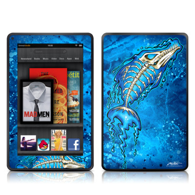 Kindle Fire Skin - Barracuda Bones
