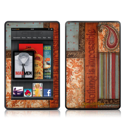 Kindle Fire Skin - Be Inspired
