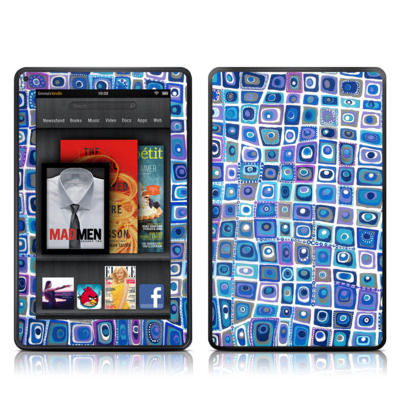 Kindle Fire Skin - Blue Monday