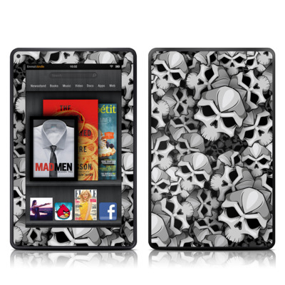 Kindle Fire Skin - Bones