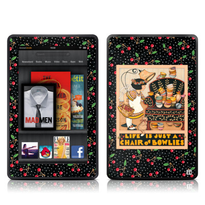 Kindle Fire Skin - Chair of Bowlies