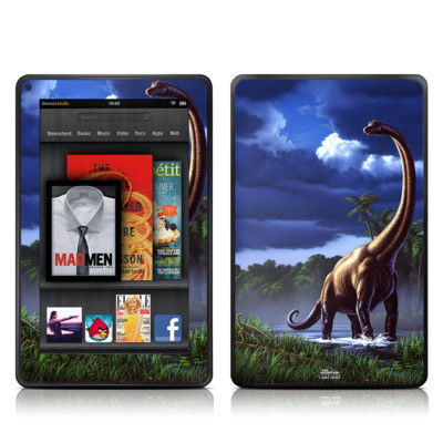 Kindle Fire Skin - Brachiosaurus