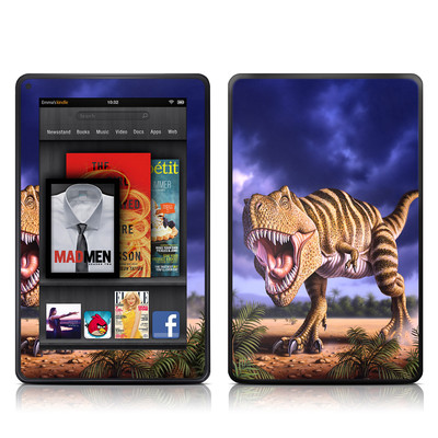 Kindle Fire Skin - Brown Rex