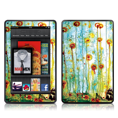 Kindle Fire Skin - Beneath The Surface