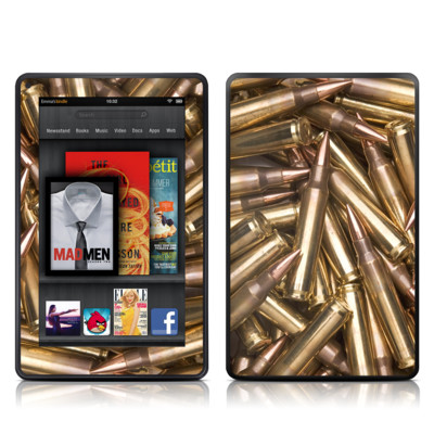 Kindle Fire Skin - Bullets