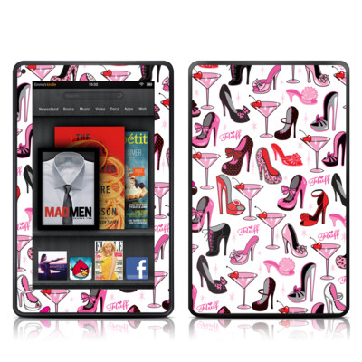 Kindle Fire Skin - Burly Q Shoes