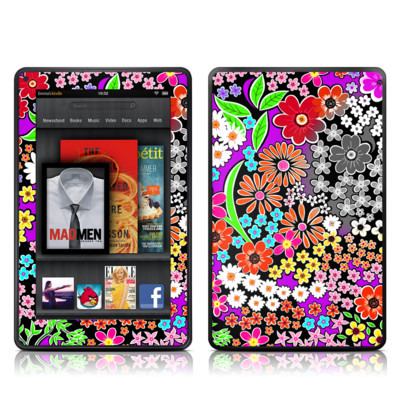 Kindle Fire Skin - A Burst of Color