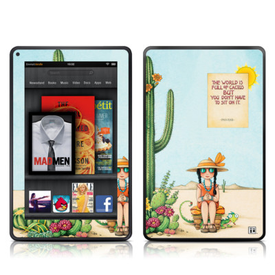 Kindle Fire Skin - Cactus