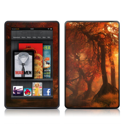 Kindle Fire Skin - Canopy Creek Autumn