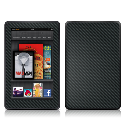 Kindle Fire Skin - Carbon