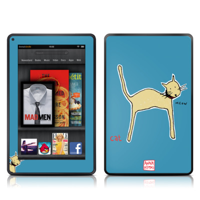 Kindle Fire Skin - Cat