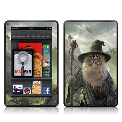 Kindle Fire Skin - Catdalf