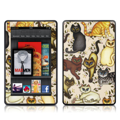 Kindle Fire Skin - Cats