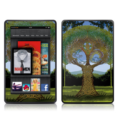 Kindle Fire Skin - Celtic Tree