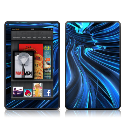 Kindle Fire Skin - Cerulean