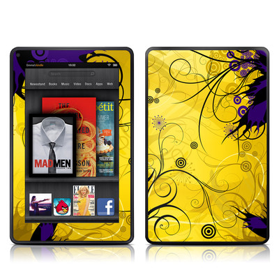 Kindle Fire Skin - Chaotic Land