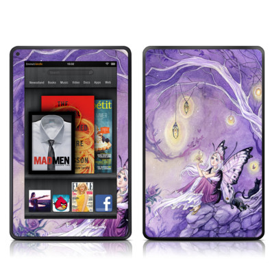 Kindle Fire Skin - Chasing Butterflies