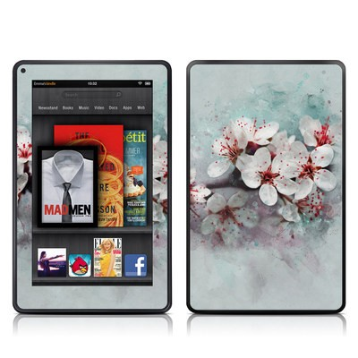 Kindle Fire Skin - Cherry Blossoms