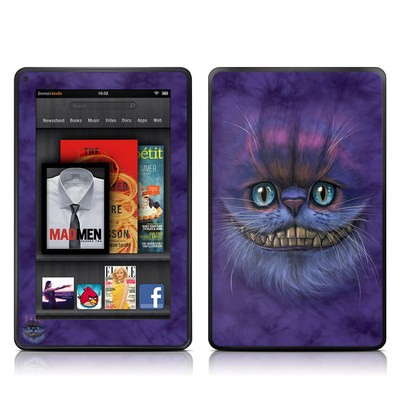 Kindle Fire Skin - Cheshire Grin