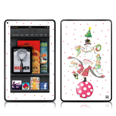 Kindle Fire Skin - Christmas Circus