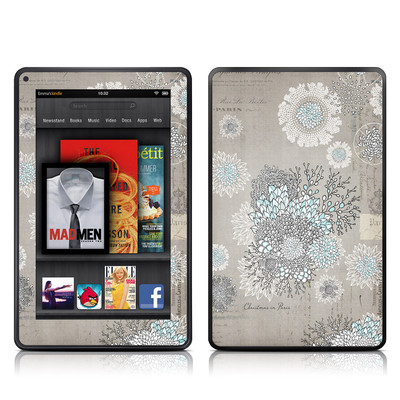 Kindle Fire Skin - Christmas In Paris