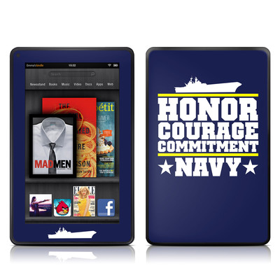 Kindle Fire Skin - Commitment