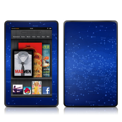 Kindle Fire Skin - Constellations