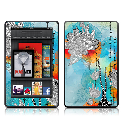 Kindle Fire Skin - Coral