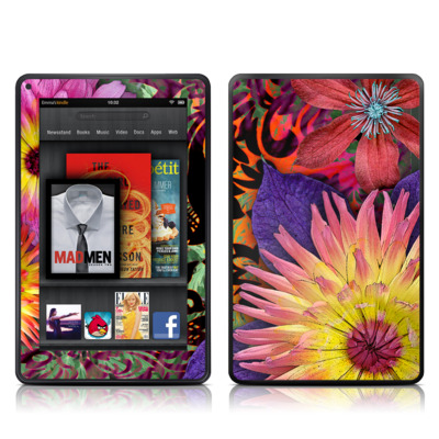 Kindle Fire Skin - Cosmic Damask