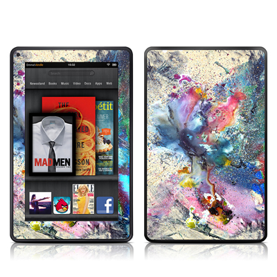 Kindle Fire Skin - Cosmic Flower