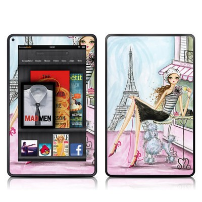 Kindle Fire Skin - Cafe Paris