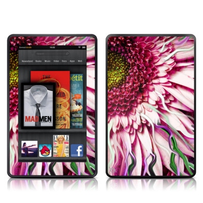 Kindle Fire Skin - Crazy Daisy