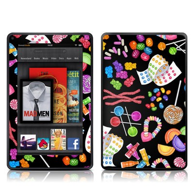 Kindle Fire Skin - Candy Toss