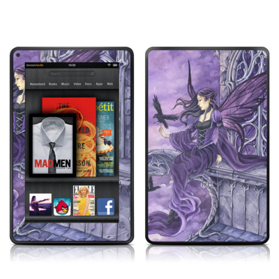 Kindle Fire Skin - Dark Wings