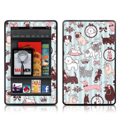 Kindle Fire Skin - Doggy Boudoir
